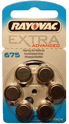 Rayovac Extra Advanced 675